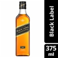 Johnnie Walker Black Label Blended Scotch Whisky, 375 mL - 375 mL