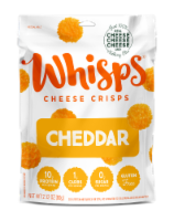 Whisps Cheddar Cheese Crisps