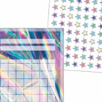 Teacher Created Resources 2021617 Incentive Charts & Stickers - Iridescent Set