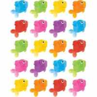 Colorful Fish Stickers, Pack of 120