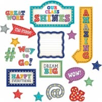 Marquee Our Class Shines Bulletin Board Set - 1
