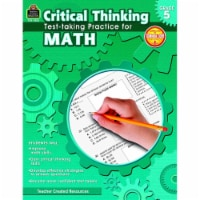 Teacher Created Resources 1498824 Book Critical Thinking Test Taking Practice Math Grade 5 - 1