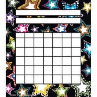 Fancy Stars Incentive Charts, Pack of 36 - 1