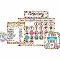 Confetti Calendar Bulletin Board Display - 1