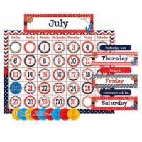 Teacher Created Resources TCR5492 Nautical Calendar Bulletin Board Set