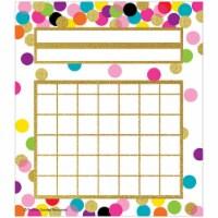 Confetti Incentive Charts, 36 Per Pack - 1