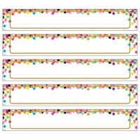 Teacher Created Resources TCR77014 Large Confetti Labels Magnetic Accents