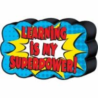 Superhero Magnetic Whiteboard Eraser - 1