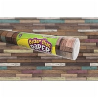 Teacher Created Resources 2005589 Better Than Paper Bulletin Board Roll - Reclaimed Wood Shim - 1