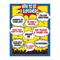 How To Be a Superhero Chart - 1