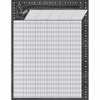 Teacher Created Resources TCR7564 Chalkboard Brights Incentive Chart