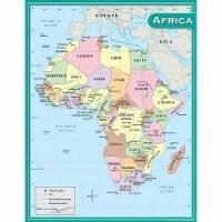 Africa Map Chart - 1