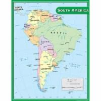 South America Map Chart - 1