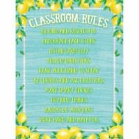 Lemon Zest Classroom Rules Chart - 1
