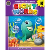 Practice to Learn: Sight Words Grade K - 1