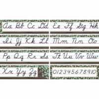Teacher Created Resources TCR8474 Eucalyptus Cursive Mini Bulletin Board Set