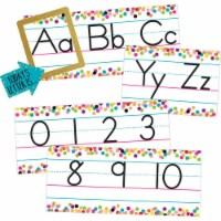 Confetti Alphabet Line Bulletin Board - 1
