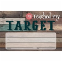Home Sweet Classroom I've Reached My Target Awards, Pack of 25 - 1