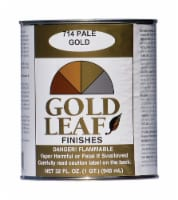 Sheffield  Gloss  Pale Gold  Paint  Exterior and Interior  672 g/L 32 oz. - Case Of: 6; - Case of: 6