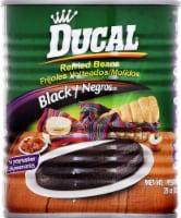 Ducal Refried Black Beans - 29 Oz
