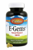 Carlson  E-Gems® Natural Vitamin E