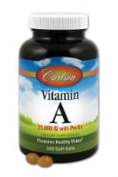Carlson Vitamin A with Pectin Supplement