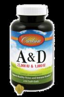 Carlson Vitamins A & D Soft Gels