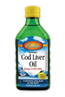 Carlson Lemon Norwegian Cod Liver Oil
