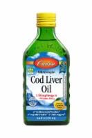 Carlson Lemon Norwegian Cod Liver Oil - 8.45 fl oz