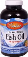 Carlson  The Very Finest Fish Oil   Orange