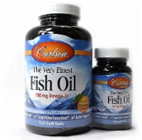 Carlson  The Very Finest Fish Oil- Omega-3s   Natural Orange