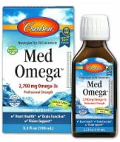 Carlson  Norwegian MedOmega™ Fish Oil Concentrate   Lemon Lime