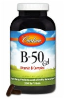 Carlson B-50 GEL Supplements