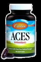 Carlson Aces Anitoxidants Vitamins A C & E Soft Gels