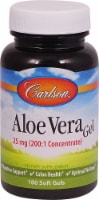 Carlson Aloe Vera Gel Softgels 25mg