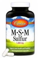 Carlson  MSM Sulfur
