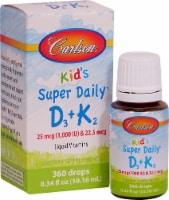 Carlson  Kid's Super Daily® D3 plus K2