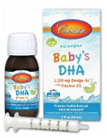 Carlson  Norwegian Baby's DHA Omega-3s with Vitamin D3 Liquid 1100mg