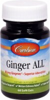 Carlson Ginger ALL Soft Gels 80mg - 60 ct