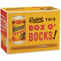 Shiner Bock Box O' Bocks! Beer