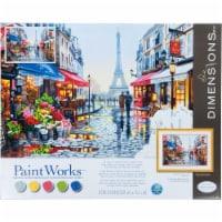 Dimensions® PaintWorks™ Paris Flower Shop Paint by Number Kit