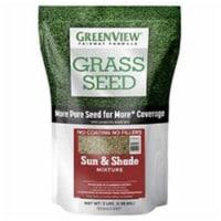 Greenview 28-29333 3 lbs Fairway Formula Grass Seed Sun & Shade Mixture