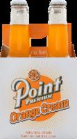 Point Premium Orange Cream Soda - 4 bottles / 12 fl oz