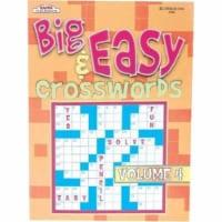 DDI 1187387 Big & Easy Crossword Books Ast Case Of 12