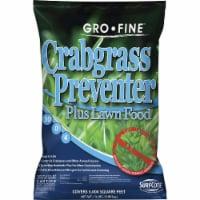 Gro-Fine 13 Lb. 5000 Sq. Ft. 30-0-4 Lawn Fertilizer with Crabgrass Preventer - 13 Lb.