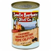 Santa Barbara Olive Co California Medium Pited Ripe Olives