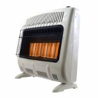 Mr. Heater 30000 BTU Vent Free Radiant 20# Propane Indoor Outdoor Space Heater - 1 Unit