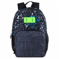 A.D. Sutton Heather Bungee Backpack