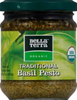 Bella Terra Organic Traditional Basil Pesto