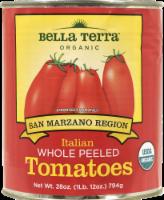Bella Terra Organic Italian Whole Peeled Tomatoes
